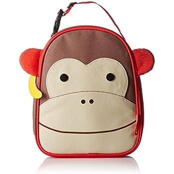 Skip Hop Zoo Insulated Lunch Bag, Marshall Monkey