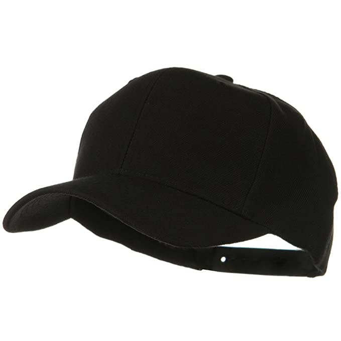 2c9cb33f Otto Caps Solid Wool Blend Prostyle Snapback Cap - Black at Amazon Men's  Clothing store: Baseball Caps