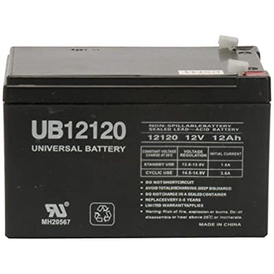 Universal Power Group PEG-PEREGO DJW12-12 or DMU12-12 SLA Replacement Battery: Toys & Games