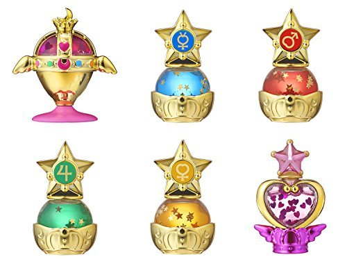 (Gashapon Sailor Moon Prism Power Dome Water Globe Collection Set)