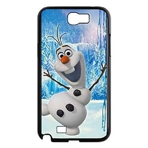 Samsung Galaxy Note 2 N7100 Phone Case BLack Frozen Olaf OF5413558