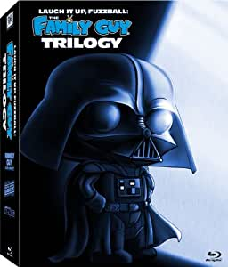 Laugh It Up, Fuzzball: The Family Guy Trilogy (It's a Trap! / Blue Harvest / Something, Something, Something, Darkside) [Blu-ray]