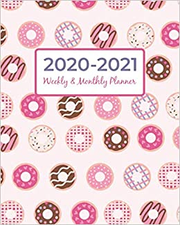 2020 2021 Weekly And Monthly Planner: July 2020 to June 2021