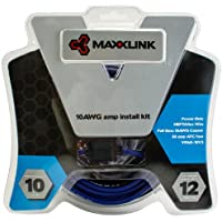 Maxxlink VPAK-8V3 CEA-2015 Full-Spec Copper Power Only Amplifier Installation Kit, 8AWG