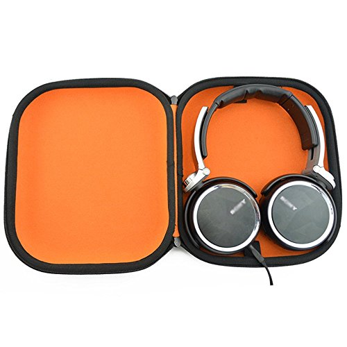 84338336f3b Hard Carrying Bag Headphones Case for Sony MDRZX110NC Noise Cancelling  Headphones MDRZX110 ZX Series Stereo / MDRZX110AP Extra Bass Smartphone  Headset ...