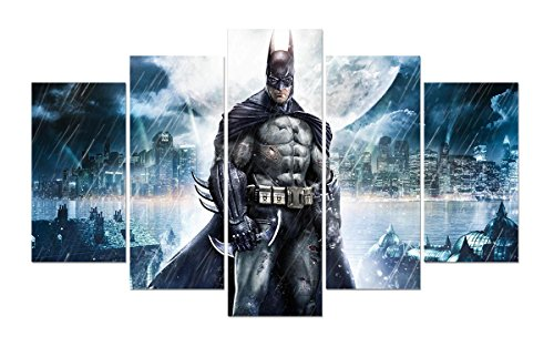 Dawn Framed Art - LMPTART(TM) 60x32 inches print Batman V Superman dawn of justice Movie poster picture for kids decor home decor wall art picture print Painting on canvas art print painting Framed ready to hang wall