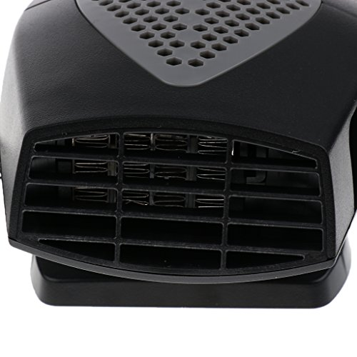 Dolity 2 in 1 12V Car Truck Heater Hot Cool Fan Window Demister Defroster - Black by Dolity (Image #6)