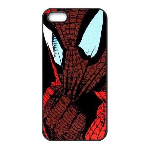 Pictures Of Spiderman 003 coque iPhone 5 5S Housse téléphone Noir de couverture de cas coque EEEXLKNBC18894