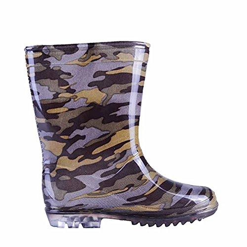 Pictures of VICVIK Children Camouflage Rain Boots Kids Lightweight 2