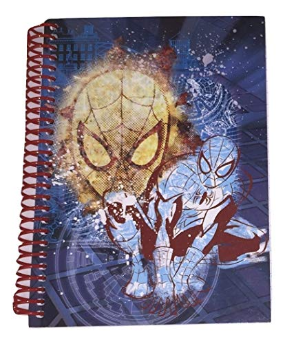 East West Distributing Marvel Ultimate Spiderman College Ruled Spiral Notebook ~ Spidey Graphics (5
