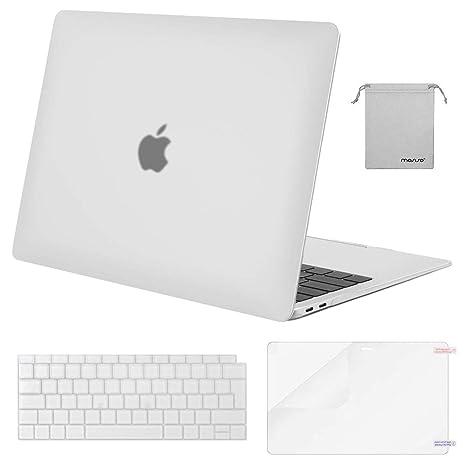 MOSISO Funda Dura Compatible 2018 MacBook Air 13 A1932 con Pantalla Retina & Touch ID,