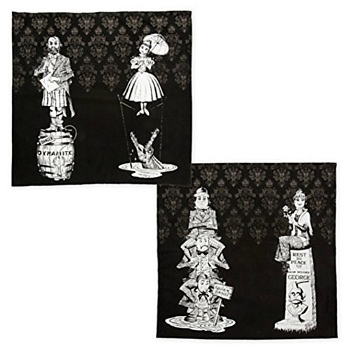 Disney Parks The Haunted Mansion Limited Edition Cotton Napkin (Haunted Mansion Tombstones)