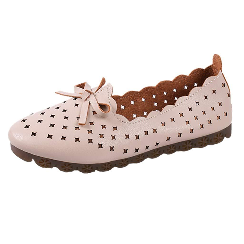 Innerternet Damen Sommer Faule Schuhe atmungsaktive Hohle
