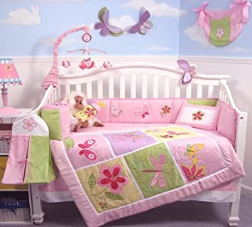 Amazon.com: SoHo Butterflies Meadows, Set de 13 piezas de ...