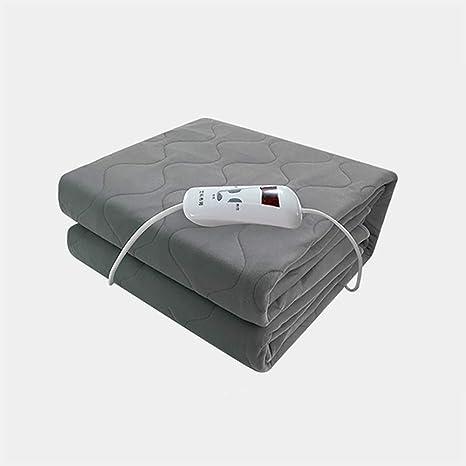 Manta Eléctrica Doble Control Individual Temporización De Temperatura Inteligente Ajuste Dormitorio De Seguridad Impermeable Pinzas Eléctricas Domésticas- ...