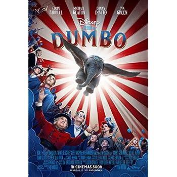 DUMBO MOVIE POSTER 2 Sided ORIGINAL INTL FINAL 27x40 TIM BURTON EVA GREEN