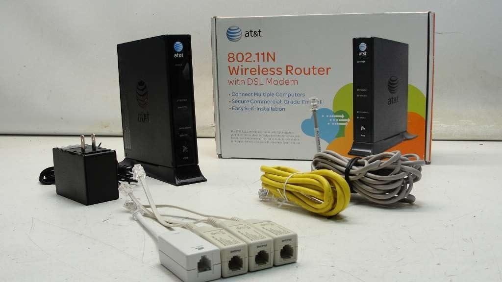 Amazon Com Pace Att Adsl Modem 4111n Broadband Gateway Bulk Packaging Computers Accessories