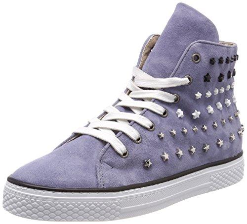 Donna 807206 Blu 6096 Collo 6096 Sneaker A 0201 Alto jeans Mjus 0qd870