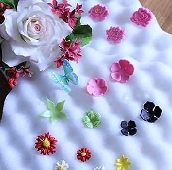 2ST Fondant Kuchen Werkzeuge Fondant Blumen gestalten Schwamm Pad ...