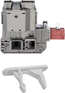 0131763202 Washing Machine Door Lock Switch Compatible with Frigidaire Kenmore 131763255 131763256 131763202 131269400 131763200 131763245 AP4455026 with with 131763310 Striker by Swess