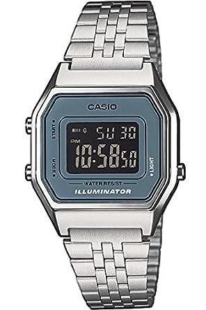 Casio Casio Collection LA680WEA-2BEF - Reloj Digital de Cuarzo para Mujer, Correa de