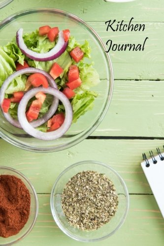 Kitchen Journal (Blank Cookbooks) (Volume 80) by Recipe Junkies