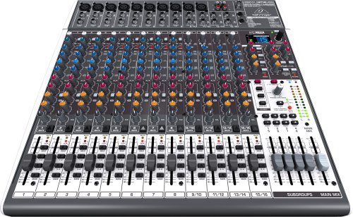 Behringer Xenyx X2442USB Premium 24-Input 4/2-Bus Mixer with USB/Audio Interface by Behringer (Image #2)