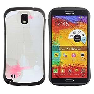 "Pulsar iFace Series Tpu silicona Carcasa Funda Case para Samsung Note 3 , Modern Paint Splash Arte Geométrico"""