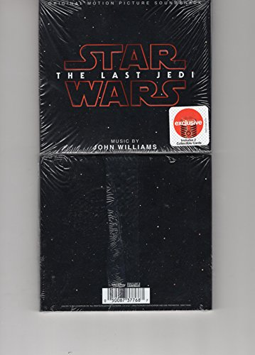 STAR WARS: THE LAST JEDI (ORIGINAL MOTION PICTURE S/T) *2 BONUS COLLECTIBLE CARDS*