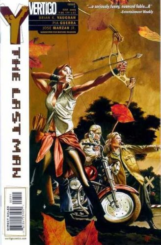 Y The Last Man #7 Comic (Volume 1, DC Vertigo 2003 Volume 1), Brian k. Vaughn