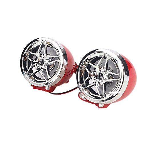 Sedeta Motorcycle Bluetooth MP3 Player Stereo Speakers Phone Dialing Audio System FM Radio Stereo Amplifier 2X Speaker Anti-theft Alarm Waterproof ATV Motorbike