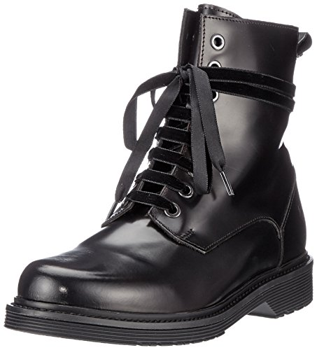 Berlin Lw175260 Mujer With Red oil Liebeskind Militares Brush 98a3 Rojo Botas Nappa Black Para aCwwpdq