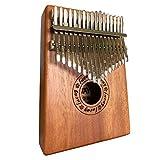 Luvay Kalimba 17 key Thumb Piano, Solid Mahogany