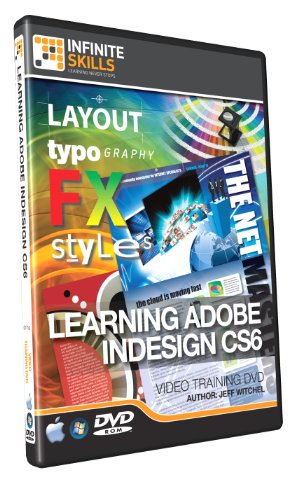 Learning Adobe InDesign CS6 - Training DVD - Tutorial Video (Indesign Training)