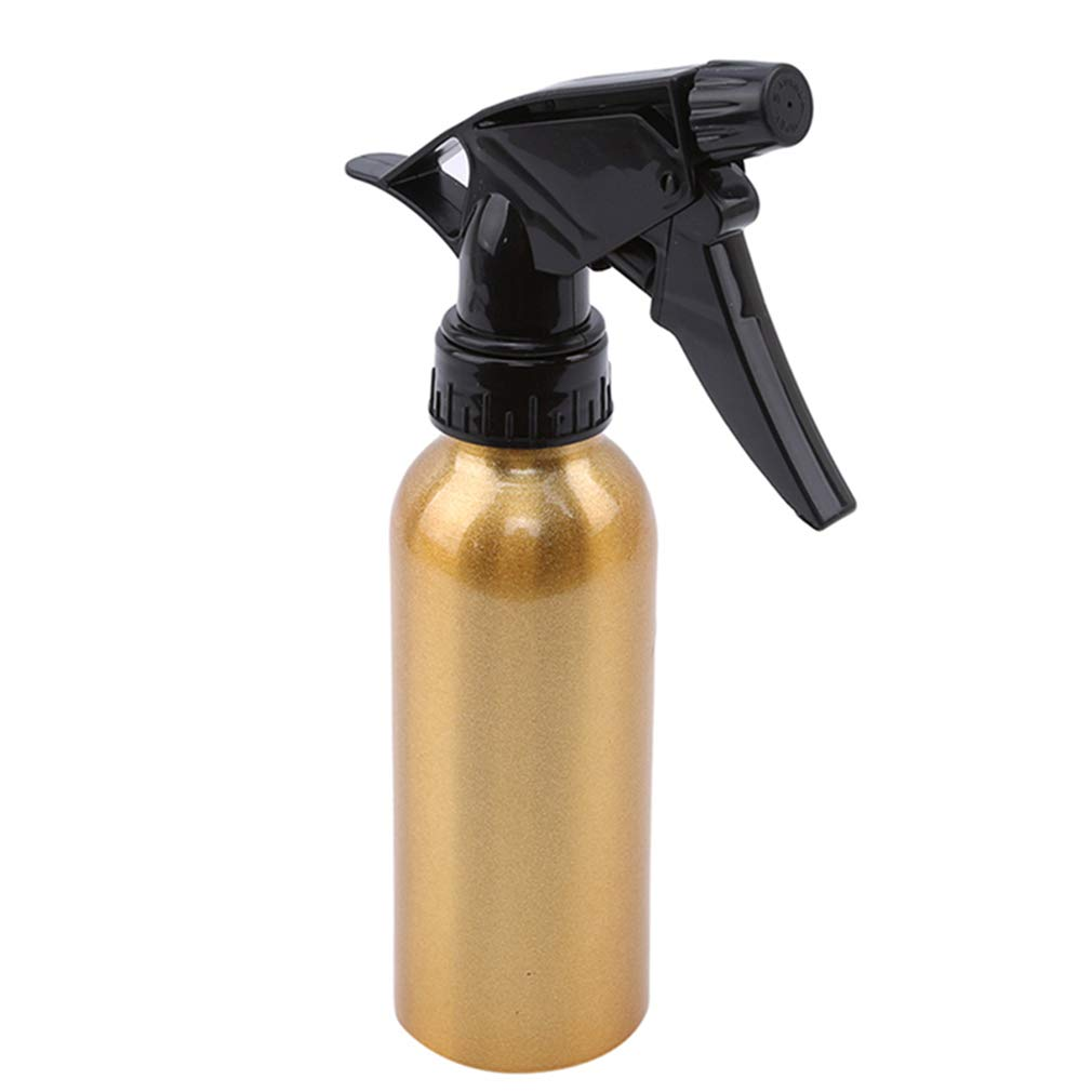 EH-LIFE Aluminum Hair Salon Style Sprayer Spray Bottle Hairdressing Flowers Water Tool Gold