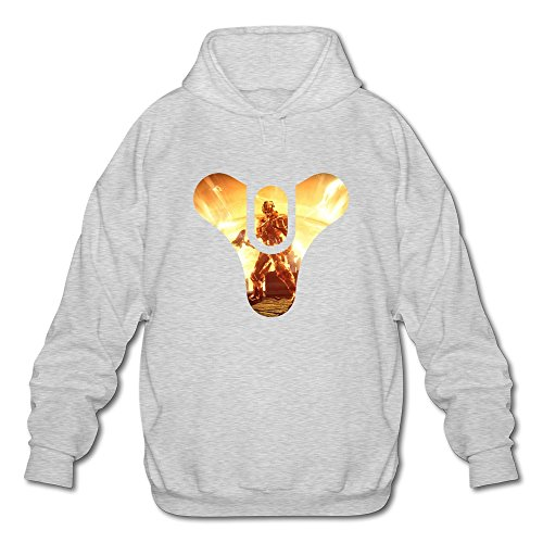 Price comparison product image Qi'c Men's Game Destiny The Taken King Sweatshirt Hoodies Ash Size M
