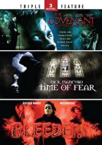 The Covenant: Brotherhood of Evil / Time of Fear / Bleeders (Triple Feature)