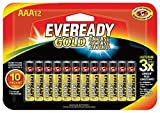 Eveready Gold AAA Batteries, Alkaline Triple A Battery - Best Reviews Guide
