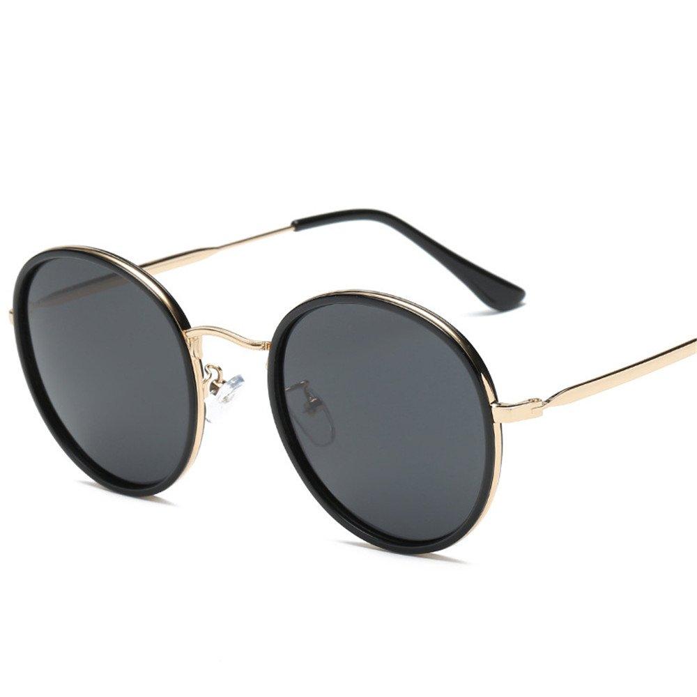 HY Gafas de Sol Personalidad callejeras Tiro Redondo UV ...