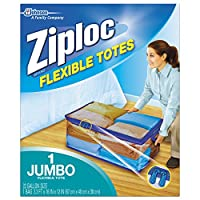 Ziploc Flexible Totes, Jumbo, 1-Count