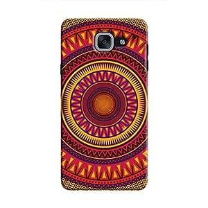 Cover It Up - Orange Ceiling Galaxy J7 PrimeHard Case