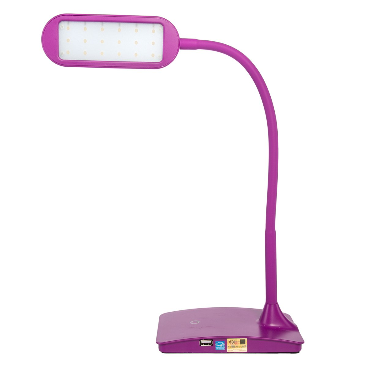 Tw Lighting Ivy 40bk The Ivy Led Desk Lamp With Usb Port