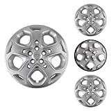 "4 lug 17 inch rims set - LEDKINGDOMUS Ford Fusion Hubcaps, 4pcs Hub Caps for Ford Fusion with 17"" Steel Wheels 5 Lug Hubcaps Wheel Covers OE Number AE5Z1130C AE5Z1130D AE5Z1130AA"