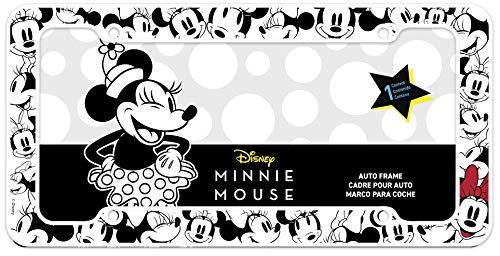 Chroma Graphics Disney Black, White, and red Chroma 42572 Minnie Mouse License Plate Frame (Disney License Plate)