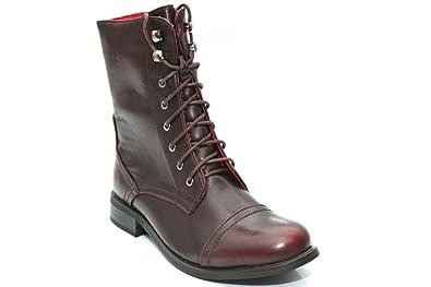 Mr Shoes Damen Stiefel & Stiefeletten Rot 36:
