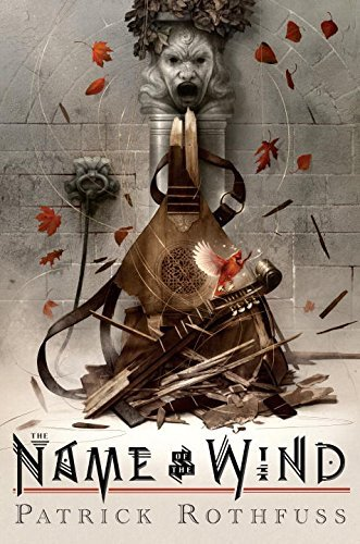 Book cover from [By Patrick Rothfuss] The Name of the Wind: 10th Anniversary Deluxe Edition (Hardcover)【2017】by Patrick Rothfuss (Author) (Hardcover) by Patrick Rothfuss