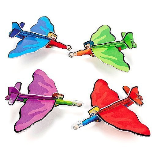 Fun Express Superhero Gliders (2 Dozen) -
