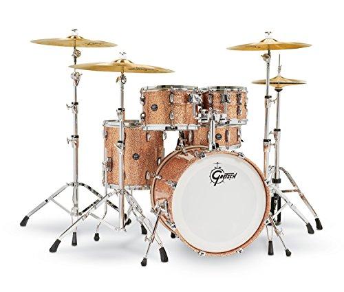 Gretsch Renown 5 Piece Drum Set (20/10/12/14/5.5x14SN) Copper ()
