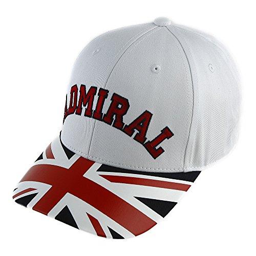 招待超音速既婚アドミラル Admiral 帽子 UJ キャップ ADMB701F