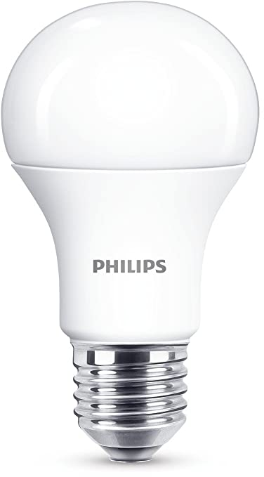 299 opinioni per Philips Lampadina LED Goccia, E27, 11 W Equivalenti a 75 W, Luce Bianca Naturale